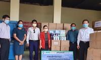 Tập đoàn Hoàng Anh Gia Lai trao tặng Bộ Nông, Lâm, Ngư nghiệp Campuchia thiết bị y tế