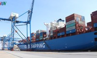 Cảng Container Quốc tế Tân Cảng Hải Phòng đón tàu mẹ kết nối trực tiếp Hải Phòng với California (Hoa Kỳ)