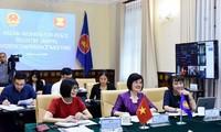 Cuộc họp trực tuyến Nhóm Phụ nữ ASEAN vì Hòa bình