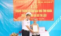 Bộ Tư lệnh vùng 1 Hải quân tri ân các gia đình liệt sĩ