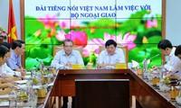Đài Tiếng nói Việt Nam và Bộ ngoại giao tăng cường hợp tác về thông tin đối ngoại và công tác kiều bào