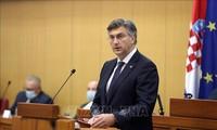 Điện mừng Thủ tướng Croatia