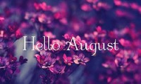 Chào Tháng Tám