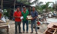 Hội Chữ thập đỏ Việt Nam hỗ trợ người dân bị ảnh hưởng của hoàn lưu bão số 2 tại Kiên Giang
