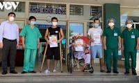 Đà Nẵng có thêm 9 bệnh nhân Covid-19 được xuất viện