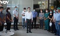 Đà Nẵng chia tay các cán bộ y tế tình nguyện giúp thành phố chống dịch