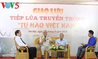 """Giao lưu tiếp lửa truyền thống """"Tự hào Việt Nam"""""""