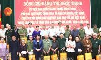 Phó Chủ tịch nước Đặng Thị Ngọc Thịnh thăm, làm việc tại huyện Chi Lăng (Lạng Sơn)