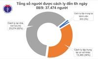 Sáu ngày liên tiếp Việt Nam không phát hiện thêm bệnh nhân mắc mới covid 19