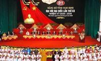 Các địa phương tổ chức Đại hội đại biểu Đảng bộ cấp tỉnh