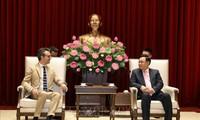 Hà Nội luôn tích cực cải thiện môi trường đầu tư và chào đón các doanh nghiệp Liên minh châu Âu