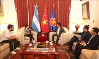 Việt Nam và Argentina tăng cường thúc đẩy hợp tác song phương