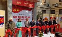 Khai mạc trưng bày chuyên đề Đảng Cộng sản Việt Nam từ Đại hội đến Đại hội