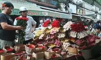 Thị trường ngày lễ tình nhân ở thành phố Hồ Chí Minh