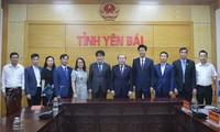 Liên minh Hợp tác xã Việt Nam và Tổ chức Lao động quốc tế làm việc với tỉnh Yên Bái