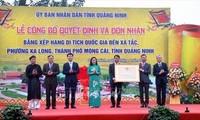 Đền Xã Tắc đón nhận bằng xếp hạng di tích Quốc gia