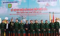 Lễ hạ thủy tàu tuần tra cao tốc theo gói tín dụng quốc phòng trị giá 100 triệu USD