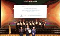 Trao giải thưởng Sao Khuê 2021