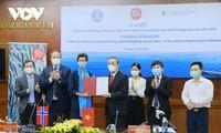 Ký kết ý định thư hợp tác thủy sản giữa Việt Nam và Na Uy