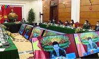 Thường trực Ban Bí thư Võ Văn Thưởng dự Hội nghị trực tuyến bàn tròn các chính đảng Nga - ASEAN