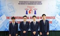 4 thí sinh Việt Nam giành huy chương Bạc cuộc thi Olympic Tin học Quốc tế 2021