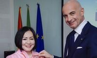Bà Trang Lê trở thành Đại sứ Ẩm thực Italy tại Việt Nam 2021