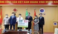 Saudi Arabia hỗ trợ vật tư y tế giúp Việt Nam phòng chống dịch Covid-19