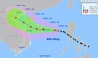 Sáng 12/9, bão số 5 đi vào đất liền các tỉnh Trung Trung Bộ
