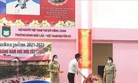 Trường song ngữ Lào – Việt Nam Nguyễn Du khai giảng năm học 2021-2022