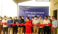 Việt Nam hỗ trợ dự án cầu đường ở tỉnh Kampot của Campuchia