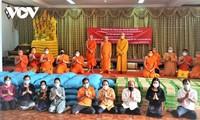 Giáo hội Phật giáo Việt Nam hỗ trợ Chư tôn đức Lào chống COVID-19