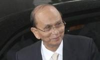 Presiden Myanmar Thein Sein melakukan kunjungan resmi di Vietnam