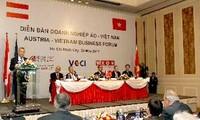 Presiden Republik Austria Heinz Fishcher meneruskan kunjungan resmi di Vietnam