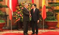 Presiden Republik Austria mengakhiri dengan baik kunjungan di Vietnam