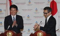 Indonesia dan Jepang mendukung pemecahan secara damai masalah Laut Timur