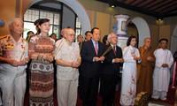 Memperingati ultah ke-124 hari lahirnya mantan Presiden Ton Duc Thang