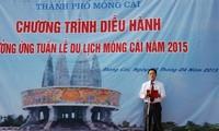 Pembukaan Pekan pariwisata koridor Mong Cai- propinsi Quang Ninh