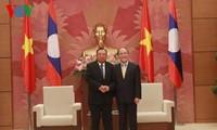 Vietnam dan Laos terus memupuk hubungan solidaritas istimewa antara dua negara
