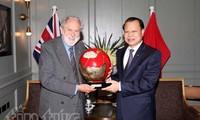 Pemerintah Vietnam ingin mendorong kerjasama di banyak bidang unggulan Kerajaan Inggris
