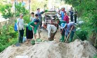 Melakukan dengan  baik pekerjaan penggerakan massa rakyat agar rakyat bersatu hati membangun pedesaan baru
