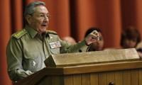 Kuba mengeluarkan pernyataan sehubungan dengan peringatan ultah pertama hari penggalangan hubungan dengan AS