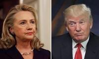 Dua kandidat Hillary Clinton dan Donald Trump terus menang di banyak negara bagian