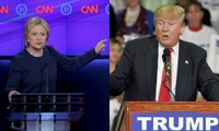 Miliarder Donald Trump dan mantan Menlu Hillary Clinton menang di Mississippi dan Michigan