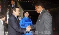 Presiden Truong Tan Sang melakukan kunjungan kenegaraan di Tanzania