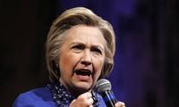 H.Clinton mendahului D Trump di semua negara bagian yang penting