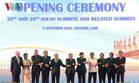 Pembukaan KTT ASEAN  di Laos
