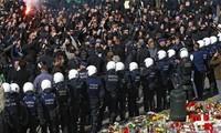 """Demonstrasi di Belgia terjadi untuk menentang kebijakan """"mengetatkan ikat pinggang"""""""