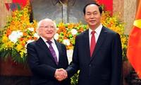 Hubungan persahabatan dan kerjasama antara Vietnam dan Irlandia akan mengalami perkembangan yang positif
