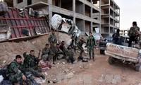 Tentara Suriah merebut kontrol atas beberapa kawasan penting di kota Aleppo