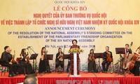 Membentuk Organisasi Legislator persahabatan Vietnam dari MN angkatan XIV